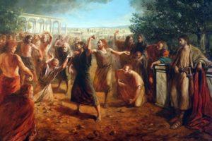 Ukamienowanie Szczepana (Dz 6,8-10; 7,54-60)