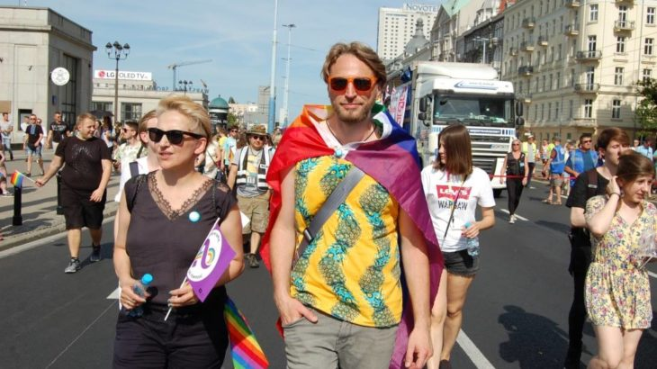 Joanna Scheuring-Wielgus i Piotr Wielgus / Fot. Facebook/Piotr Wielgus