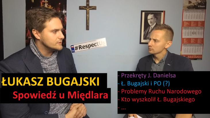 Spowiedź u Międlara: Łukasz Bugajskiq