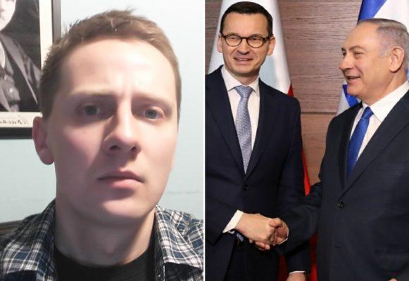 Jacek Międlar, Morawiecki i Netanjahu