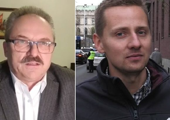 Marek Jakubiak i Jacek Międlar / Fot. Twitter