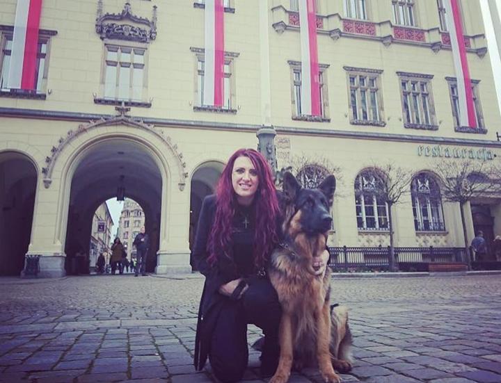 Jayda Fransen we Wrocławiu, 12 listopada 2017 / Fot. Instagram