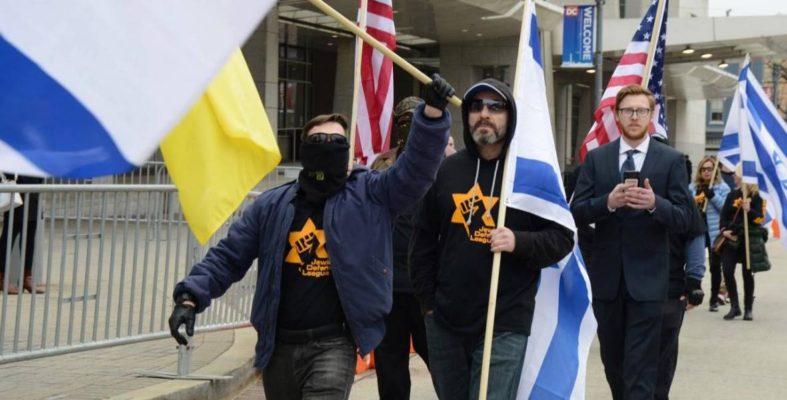 Działacze Jewish Defence League