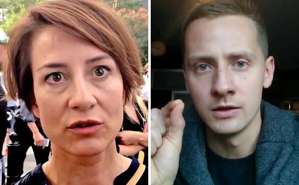 Maja Ostaszewska i Jacek Międlar