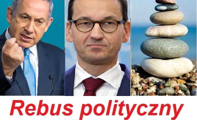 Rebus polityczny: Chu*, du*a, kamieni kupa