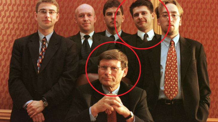 Zaznaczeni: Leszek Balcerowicz i Ryszard Petru
