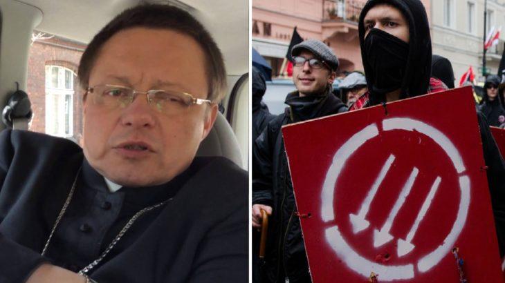 Bp Grzegorz Ryś tworzy sojusz z komunistami