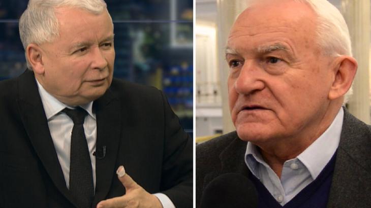 Jarosław Kaczyński i Leszek Miller