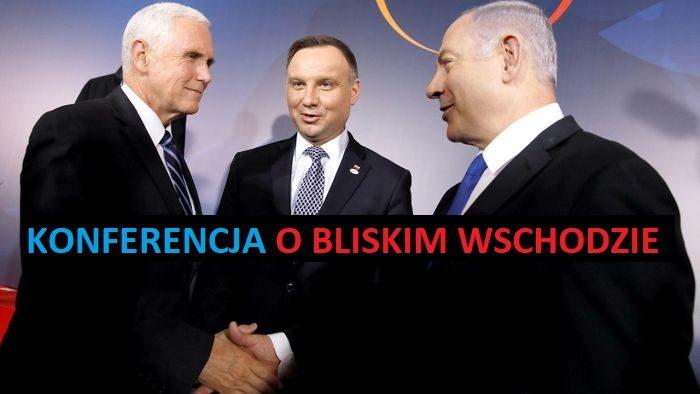 Mike Pence, Andrzej Duda, Benjamin Netanjahu