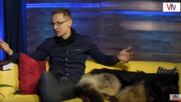 Jacek Międlar w Studiu VTV