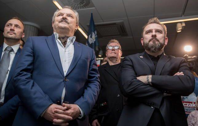 "Marek Jakubiak i Piotr ""Liroy"" Marzec / Fot. PAP"