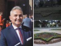 Jerzy Wrębiak i żydowskie gwiazdy w Brzegu